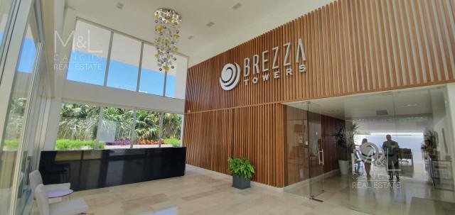 Foto Departamento en Venta en  El Table,  Cancún   Departamento  en Venta en Cancún, BREZZA TOWERS. Tipo B de 2 Recámaras 140 m2. El Table.