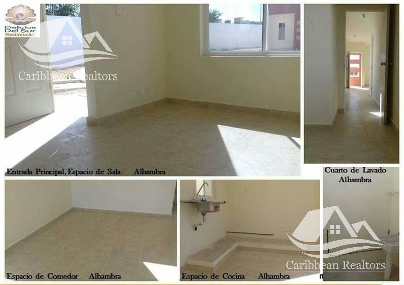Foto Casa en Venta en  Jardines del Sur,  Cancún  Casa en Venta en Cancún modelo Alcazar y modelo Xcaret