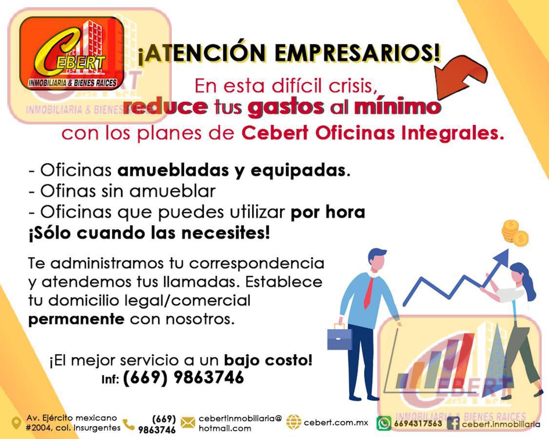 Foto Oficina en Renta en  Insurgentes,  Mazatlán  RENTA DE OFICINAS EN MAZATLAN SINALOA