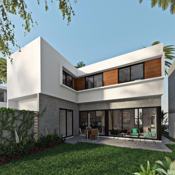 Foto Casa en Venta en  Playa del Carmen ,  Quintana Roo  Casa 3 recámaras enla nueva zona residencial de Playa del Carmen P2076