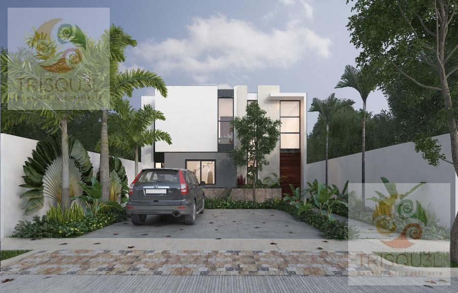 Foto Casa en condominio en Venta en  Pueblo Cholul,  Mérida  Casa en venta privada Ya´ax-Beh (Mod A) Cholul,Mérida Yucatán
