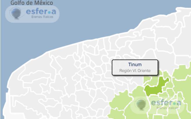 Foto Terreno en Venta en  Tinum ,  Yucatán  Terreno en Venta en Tinum 130 Hectáreas $ 300,000 x Ha
