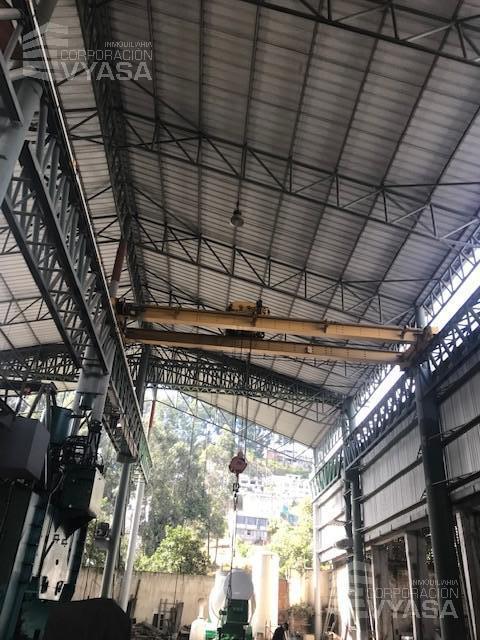 Foto Galpón en Alquiler en  Sur de Quito,  Quito          Guajaló (Sur de Quito) - Maldonado,   Galpón de Arriendo de 1,600 m2