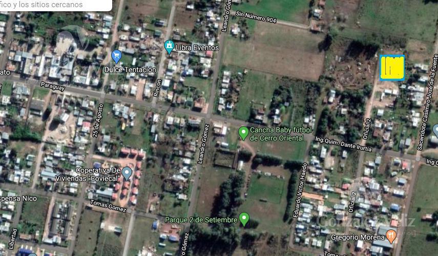 Foto Terreno en Venta en  Carmelo ,  Colonia  Continuación Oficial 3 casi Av.Paraguay