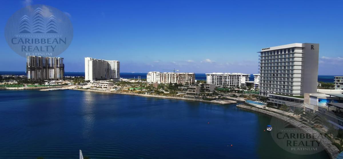 Foto Departamento en Renta en  Puerto Cancún,  Cancún  HERMOSO DEPARTAMENTO AMUEBLADO EN RENTA MARINA CONDOS - PUERTO CANCUN