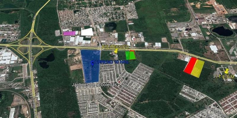 Foto Bodega Industrial en Venta en  Parque industrial Puerto Industrial de Altamira,  Altamira  TV-240 TERRENOS EN VENTA EN CORREDOR INDUSTRIAL ALTAMIRA TAMAULIPAS.