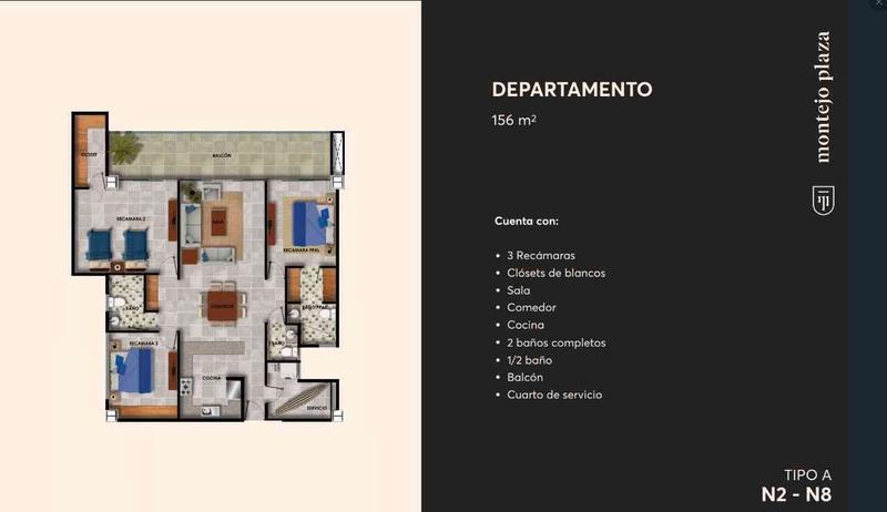 Foto Departamento en Venta en  Cordemex,  Mérida  Venta de  lujosos Departamentos Montejo Plaza al Norte de Mérida