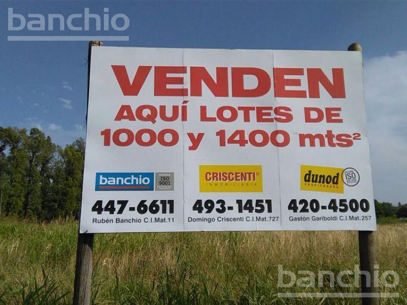 RUTA 9 KM al 300, Funes, Santa Fe. Venta de Terrenos - Banchio Propiedades. Inmobiliaria en Rosario