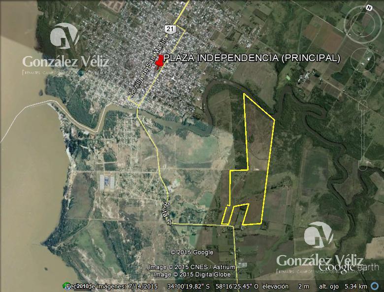Foto Chacra en Venta en  Carmelo ,  Colonia  Chacras en Ruta 21 curva Mortalena - Sausalito