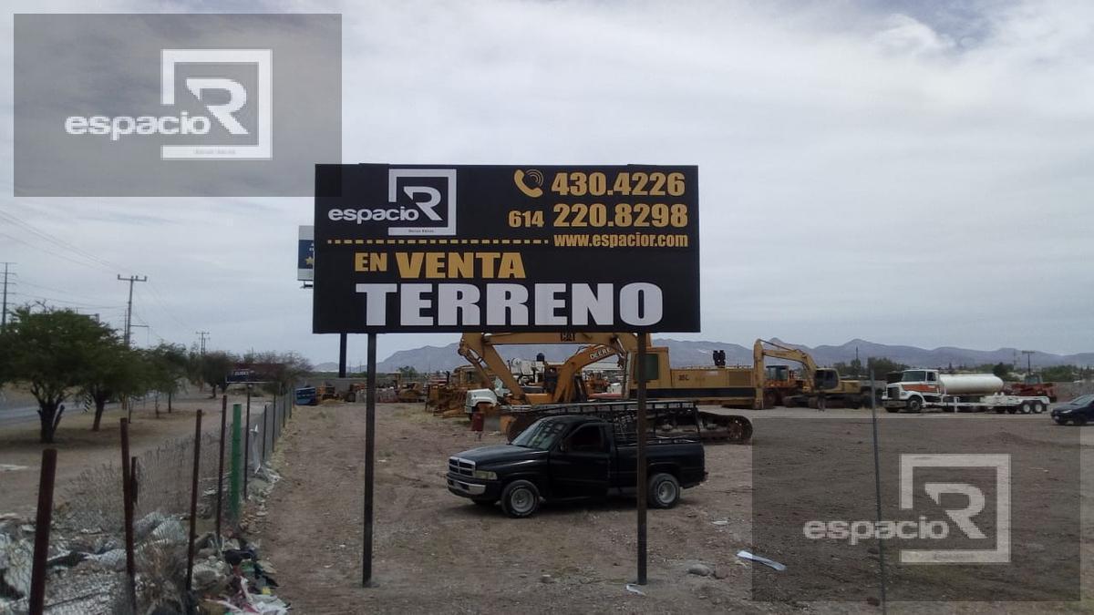 Foto Terreno en Venta en  Robinson,  Chihuahua  OPORTUNIDAD DE INVERSIÓN TERRENO EN VENTA EN LA CARRETERA ALDAMA