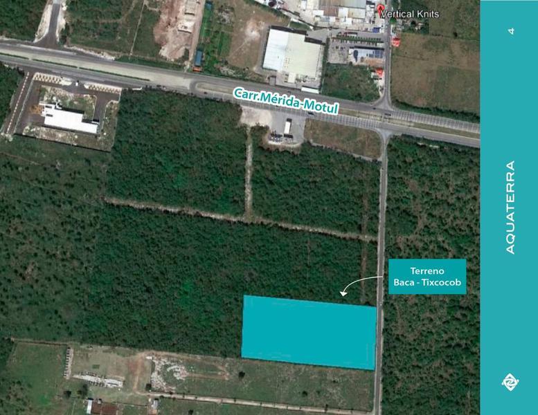 2 Hectáreas a 250 metros de la Carretera Mérida-Motul
