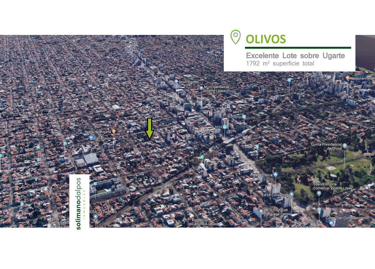 Foto Terreno en Venta en  Olivos,  Vicente Lopez  Gob Ugarte al 1800