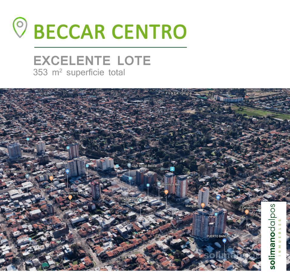 Foto Terreno en Venta en  Beccar,  San Isidro  Jose Ingenieros al 200
