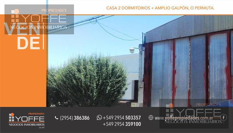 Foto Galpón en Venta en  Villa Tomás Mason Norte y Sur,  Santa Rosa  Santiago del Estero al 900