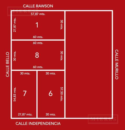 Quinta en calle independencia y Andres Bello .