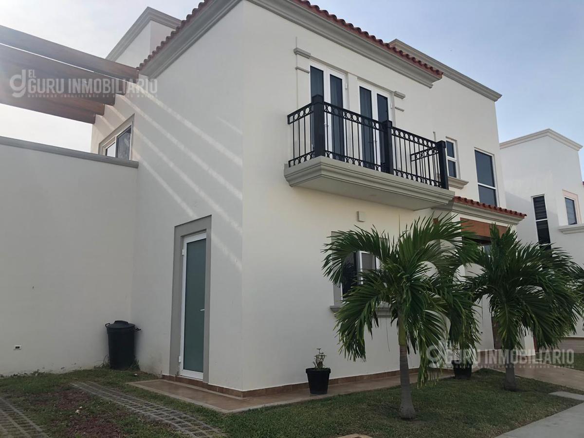 Foto Casa en Renta en  Fraccionamiento Mediterráneo Club Residencial,  Mazatlán  Casa en Renta Modelo La Canea en Fraccionamiento Mediterráneo Club Residencial
