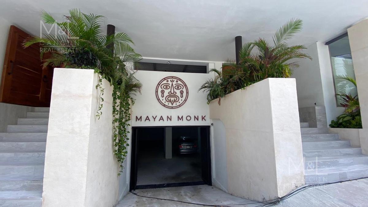 Foto Departamento en Venta en  Playa del Carmen,  Solidaridad  Departamento en Venta en Playa del Carmen, Mayan Monk de 1 Recámara