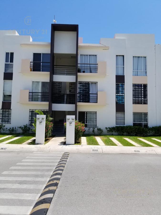 Foto Departamento en Renta en  Playa del Carmen ,  Quintana Roo  Departamento en renta 3 habitaciones sin muebles, en privada sobre Av. Constituyentes, Misión de las Flores Playa del Carmen  P2997