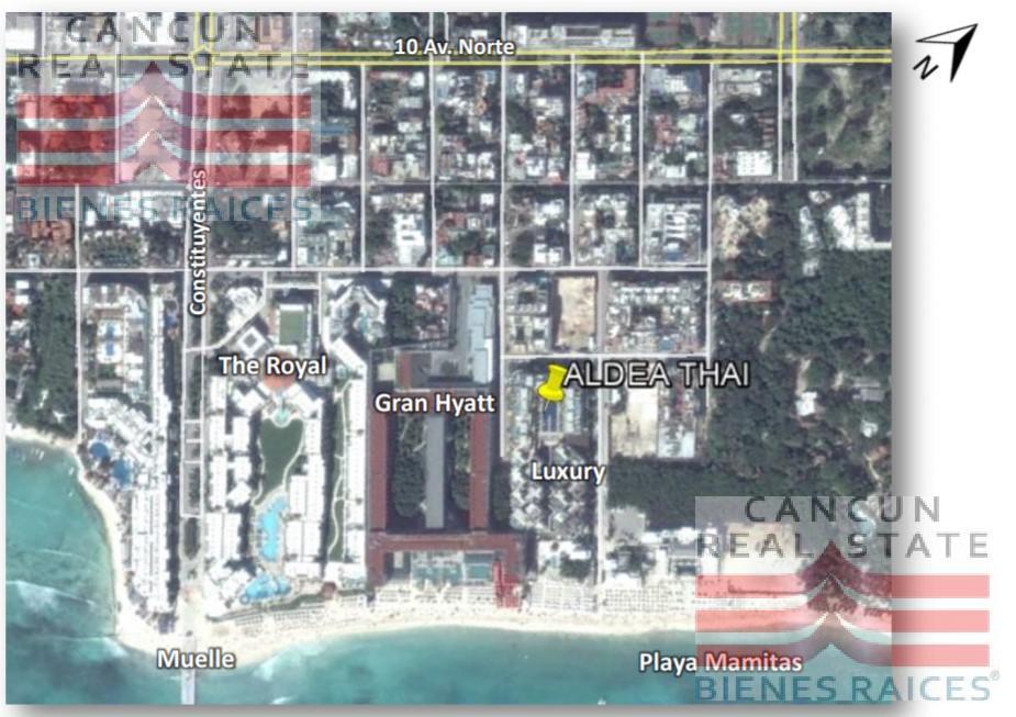 Foto Local en Venta en  Playa del Carmen Centro,  Solidaridad  Aldea Thai Playa del Carmen local