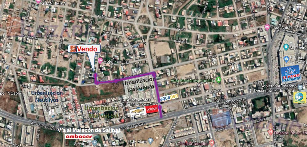 Foto Terreno en Venta en  Costa de Oro,  Salinas  Vendo terreno Salinas $32.000