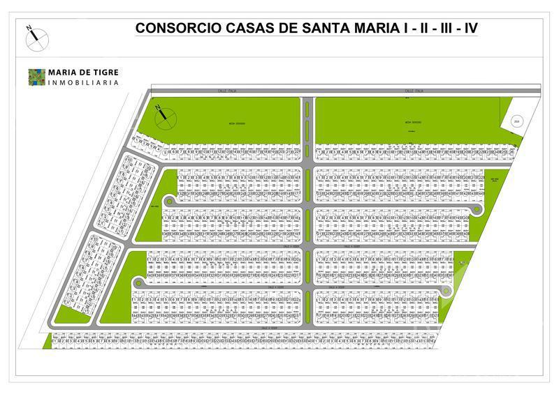Foto Terreno en Venta en  Casas de Santa Maria,  Villanueva  MANZANA 14 - LOTE 18 - VILLANUEVA - TIGRE