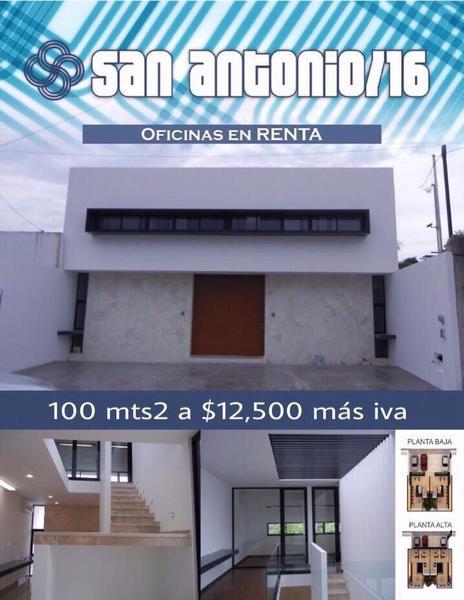 Foto Oficina en Renta en  Fraccionamiento San Antonio Cinta,  Mérida  Oficinas San Antonio Cinta