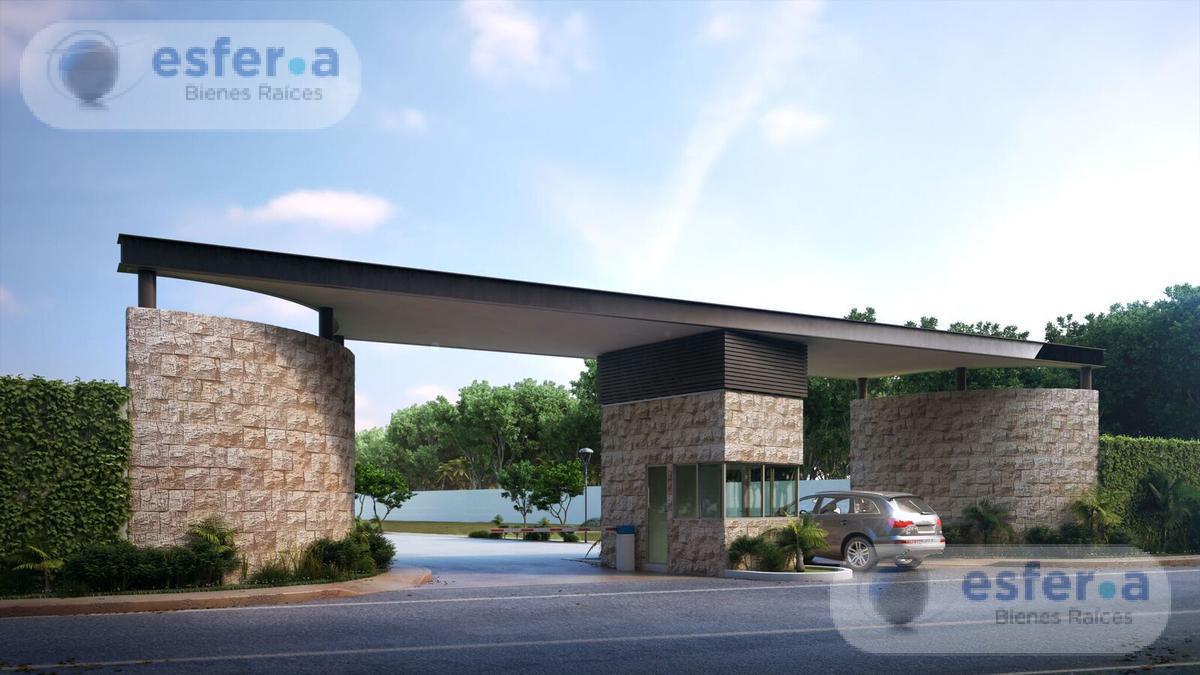 Foto Terreno en Venta en  Pueblo Temozon Norte,  Mérida  Terrenos en venta en Privada kaán Temozón 360m2
