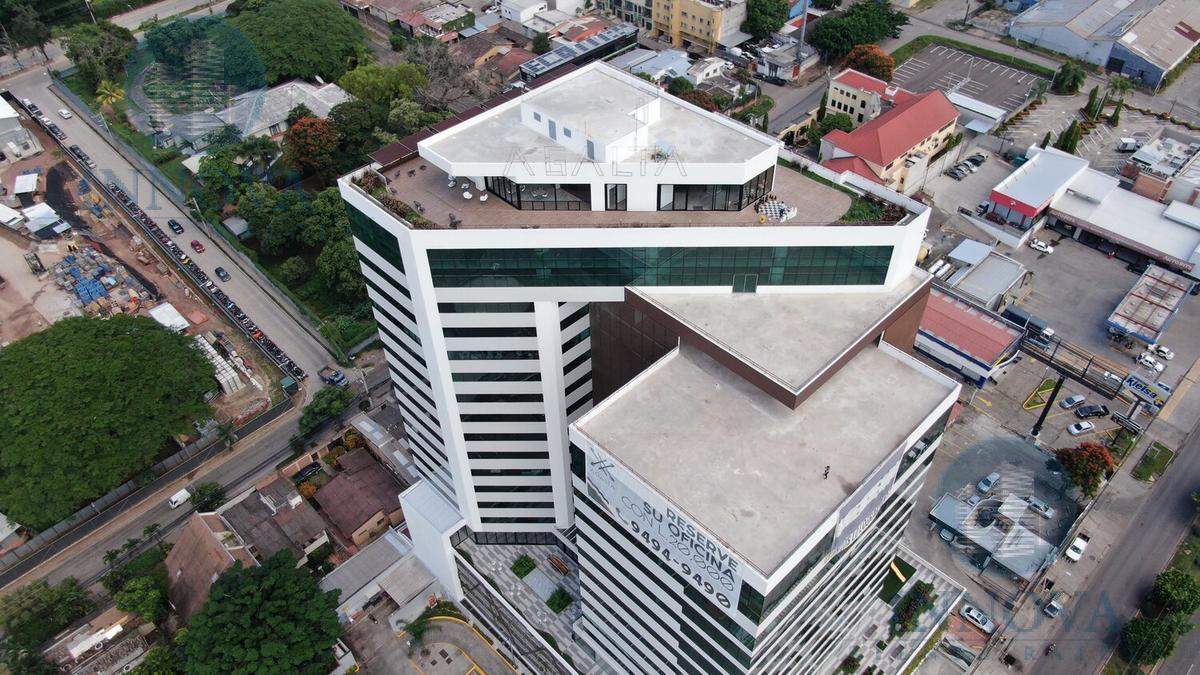 Foto Oficina en Renta en  Boulevard Morazan,  Tegucigalpa  Oficina  En Renta 29 mtrs Torre Agalta Tegucigalpa