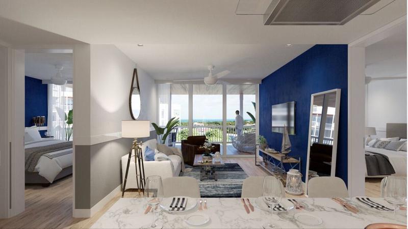 Foto Departamento en Venta en  Playa del Carmen ,  Quintana Roo  Increible Penthouse 2 recámaras en Puerto Aventuras P2392