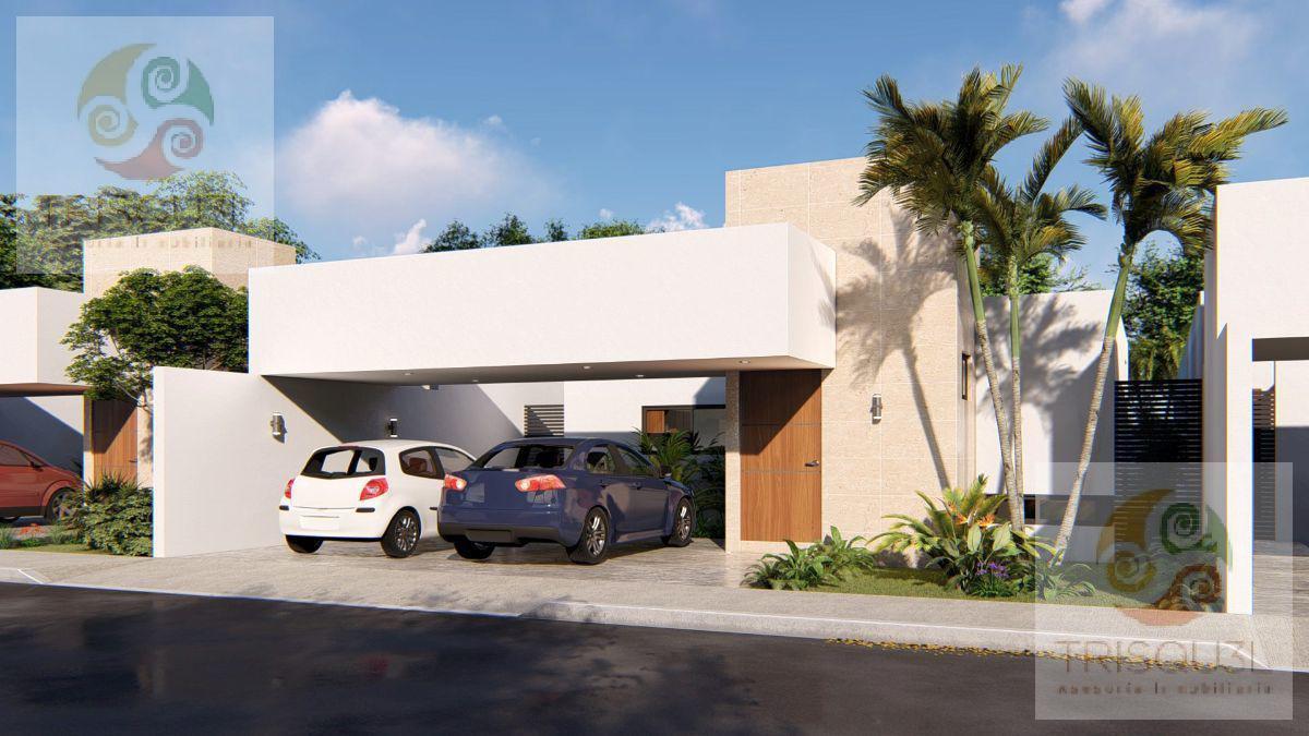 Foto Casa en Venta en  Pueblo Conkal,  Conkal      Casa en Venta  de una Planta (Ébano)Conkal , Mérida Yucatán