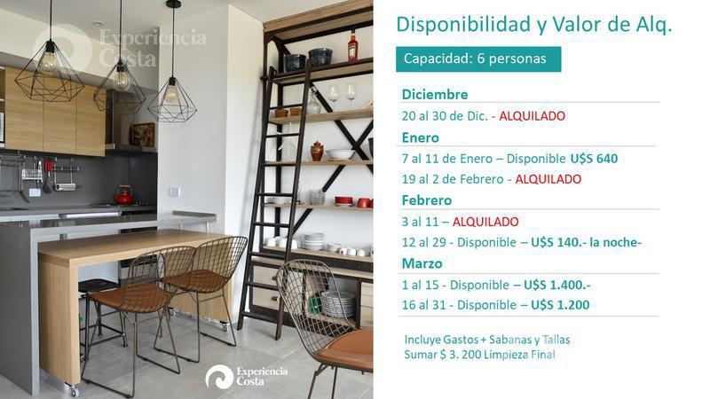 Foto Departamento en Alquiler en  Barrio Costa Esmeralda,  Pinamar  Aguila 4º C - Al Golf 19