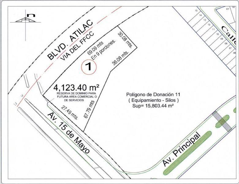 Foto Terreno en Venta en  Villa Posadas,  Puebla  Terreno en venta Zona Serdan Av 15 de mayo