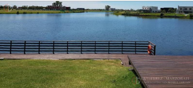 Foto Terreno en Venta en  Muelles,  Puertos del Lago  BARRIO PUERTOS DEL LAGO- MUELLES