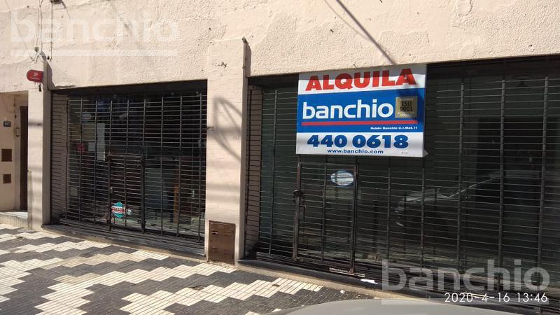 CORRIENTES al 1900, Rosario, Santa Fe. Alquiler de Comercios y oficinas - Banchio Propiedades. Inmobiliaria en Rosario