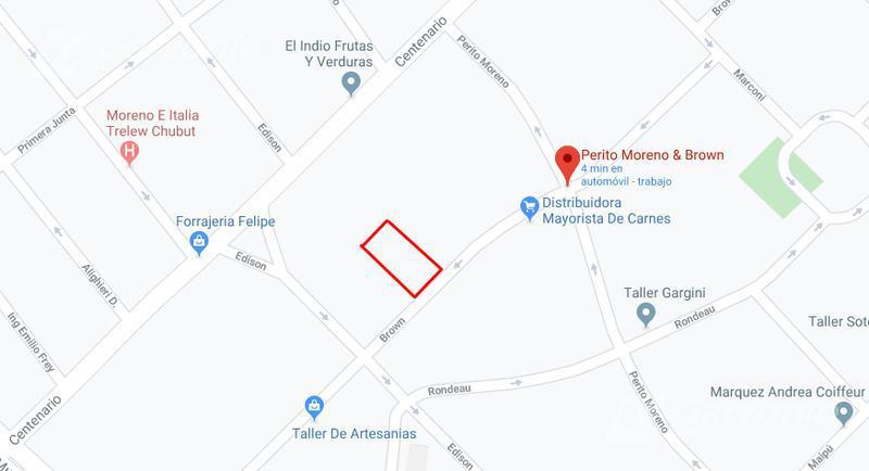 Foto Terreno en Venta en  Trelew ,  Chubut  Brown y Perito Moreno