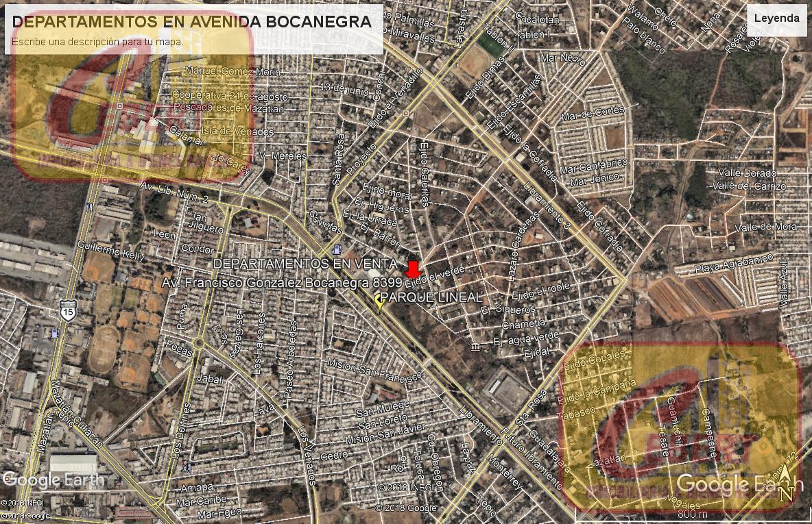 Foto Departamento en Venta en  Mazatlán ,  Sinaloa  Avenida Bocanegra
