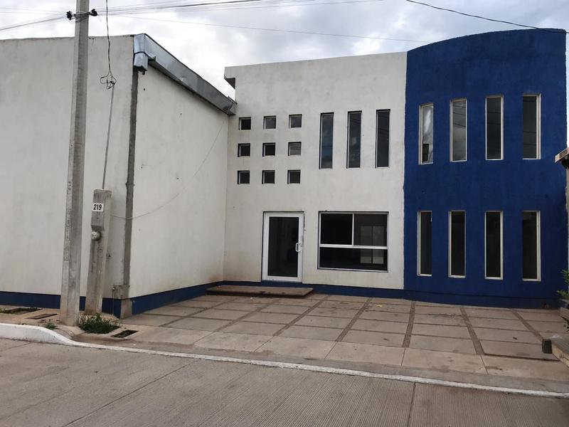 Foto Bodega Industrial en Venta en  Villa Juárez,  Chihuahua  EXCELENTE BODEGA CON EDIFICIO EN VENTA