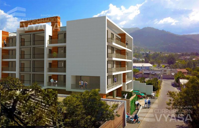 Foto Departamento en Venta en  Tumbaco,  Quito  La Morita, Escalón de Tumbaco, Apartamento de 79,61 m2 de venta  - (P3-14)