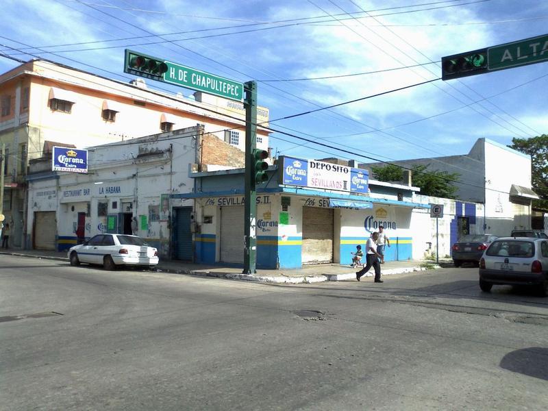 Foto Terreno en Renta en  Tampico Centro,  Tampico  TR-089 TERRENO CON LOCAL EN ESQUINA CENTRO DE TAMPICO