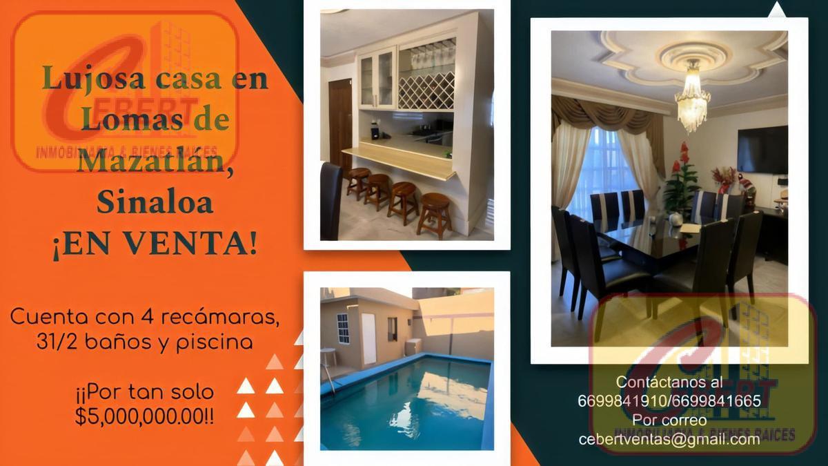 Foto Casa en Venta en  Mazatlán ,  Sinaloa         Casa en Venta en  Lomas de Mazatlàn