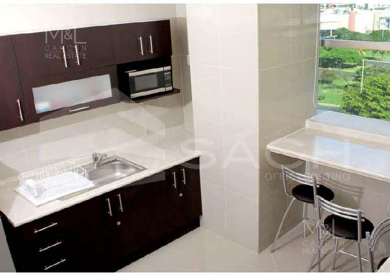 Foto Oficina en Renta en  Supermanzana 11,  Cancún  Oficinas amuebladas en renta en Cancún, SACH, disponible de 4 a 8 personas