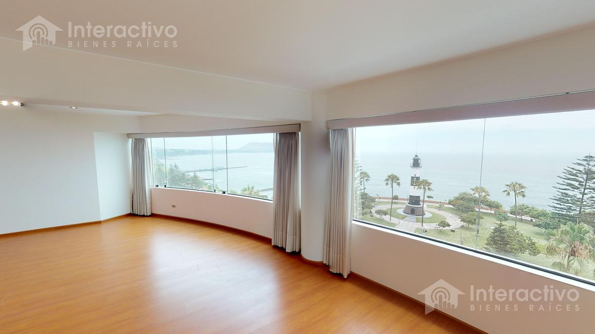 Foto Departamento en Alquiler en  Miraflores,  Lima                  Malecon Cisneros   8vo piso