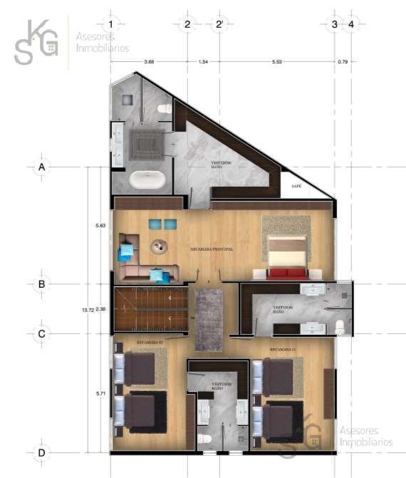 Foto Casa en condominio en Venta en  Lomas Country Club,  Huixquilucan  SKG Asesores Inmobiliarios vende casa en conjunto Lomas Country Oportunidad de Precio