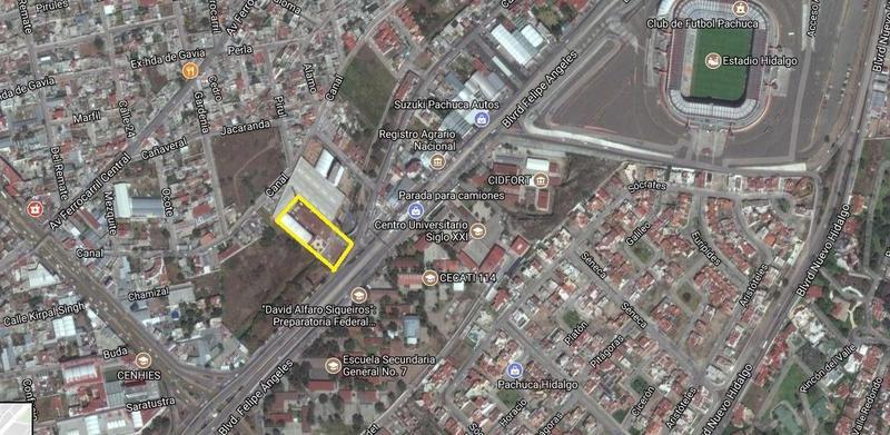 Foto Edificio Comercial en Venta en  Ampliación Santa Julia,  Pachuca  EDIFICIO RE-MODELADO  BLVD. FELIPE ANGELES, PACHUCA