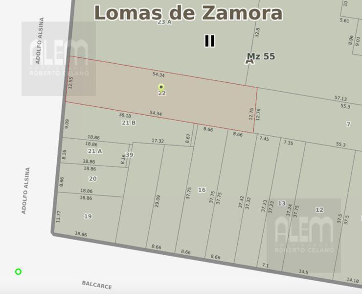 Foto Terreno en Venta en  Lomas de Zamora Este,  Lomas De Zamora  Alsina e/Fonrouge y Balcarce