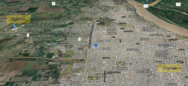 Foto Galpón en Venta en  Belgrano,  Rosario  México al 1000