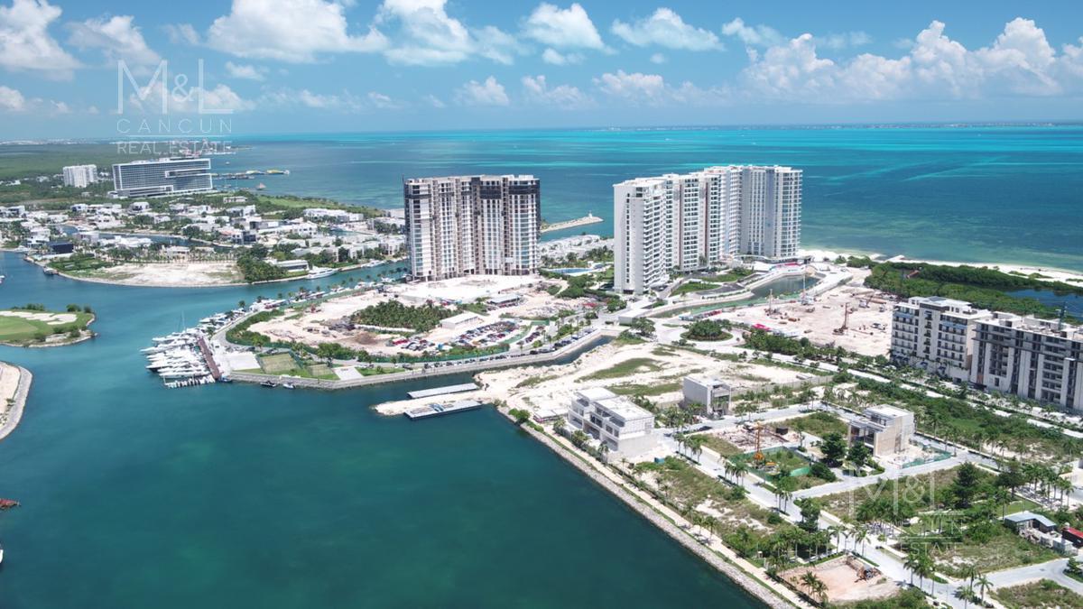 Foto Departamento en Venta en  Puerto Cancún,  Cancún  SLS MARINA BEACH  CANCUN Departamento en venta  3 Recámaras  Puerto Cancún