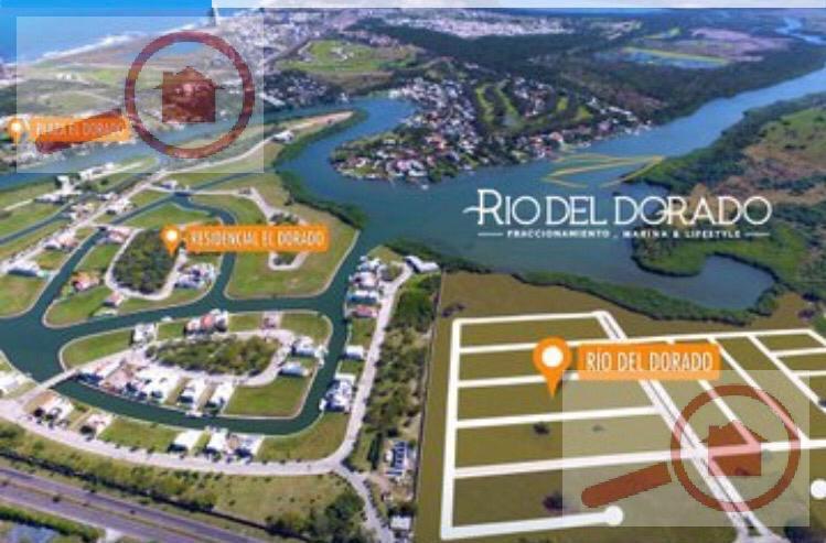 Foto Terreno en Venta en  Fraccionamiento Río del Dorado,  Boca del Río  Terrenos en Venta Fracc Rio del Dorado Marina & Lifestyle