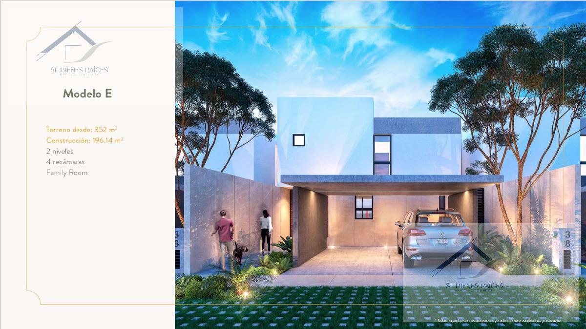 Foto Casa en condominio en Venta en  Pueblo Cholul,  Mérida  Palta 152 casas en venta Segunda etapa