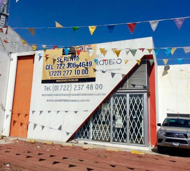 Foto Bodega Industrial en Renta en  Santa Cruz Azcapotzaltongo,  Toluca  BODEGA EN RENTA UBICADO EN VIA ALFREDO DEL MAZO, TOLUCA.